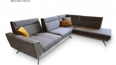 CARISMA Γωνιακός καναπές , με μηχανισμό στην πλάτη
